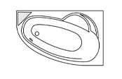 Système balnéo Préférence - LADIVA GAUCHE + Tablier