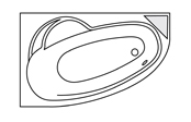 Système balnéo Gold+ - LADIVA DROITE