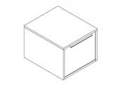 NEWPORT Bloc tiroir avec poignée - 40 cm