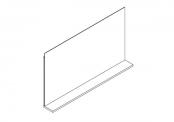 Miroir décotab - 105 cm