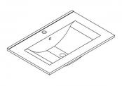 Plan de toilette MAX - 60 cm