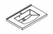 Plan de toilette MIND 60 cm